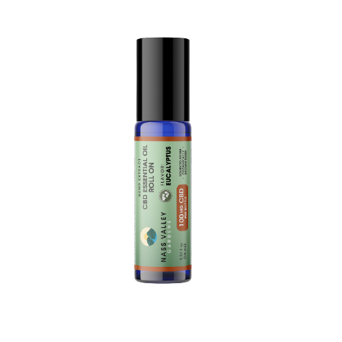 100 MG Broad Spectrum CBD Eucalyptus Essential Oil With Roll On