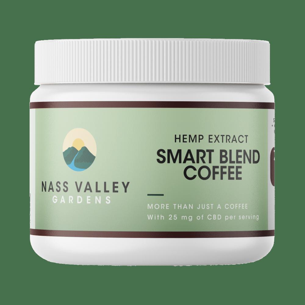 750 MG Broad Spectrum Smart CBD Coffee 30 Servings Size